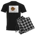 Stingray (Southern) ray Men's Dark Pajamas
