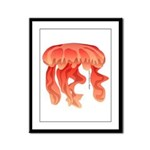 Giant Deep Sea Jellyfish Framed Panel Print