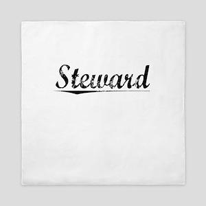 Steward, Vintage Queen Duvet
