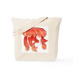 Giant Deep Sea Jellyfish Tote Bag
