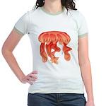 Giant Deep Sea Jellyfish Jr. Ringer T-Shirt
