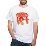 Giant Deep Sea Jellyfish White T-Shirt