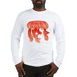 Giant Deep Sea Jellyfish Long Sleeve T-Shirt