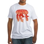 Giant Deep Sea Jellyfish Fitted T-Shirt