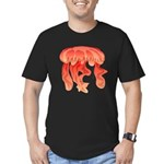 Giant Deep Sea Jellyfish Men's Fitted T-Shirt (dar