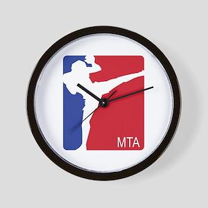 U.S. FLAG MTA Wall Clock