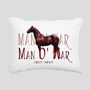 Man o War Rectangular Canvas Pillow