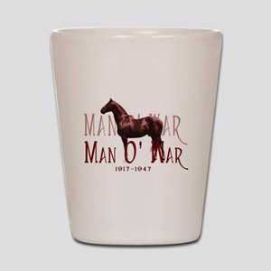 Man o War Shot Glass