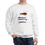 Deep Sea Fish Teeth Sweatshirt
