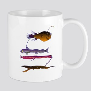 Deep Sea Fish Teeth Mug