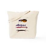 Deep Sea Fish Teeth Tote Bag