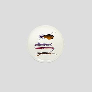 Deep Sea Fish Teeth Mini Button