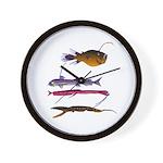 Deep Sea Fish Teeth Wall Clock