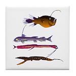 Deep Sea Fish Teeth Tile Coaster