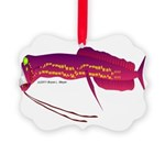 Deep Sea Dragonfish Picture Ornament