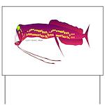 Deep Sea Dragonfish Yard Sign
