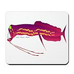 Deep Sea Dragonfish Mousepad