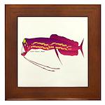 Deep Sea Dragonfish Framed Tile