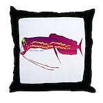 Deep Sea Dragonfish Throw Pillow