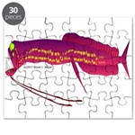 Deep Sea Dragonfish Puzzle