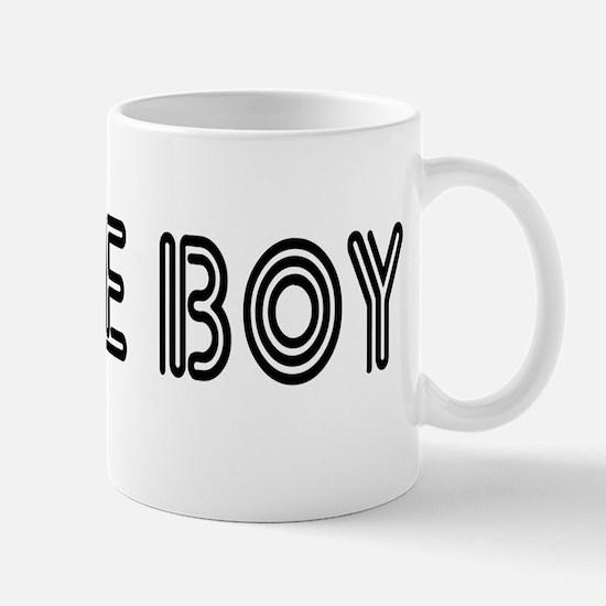 WHITE BOY Mug