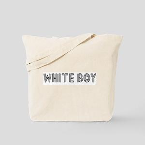 WHITE BOY Tote Bag