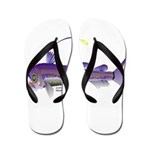 Deep Sea Viperfish Flip Flops