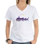 Deep Sea Viperfish Women's V-Neck T-Shirt