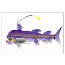 Deep Sea Viperfish Large Poster
