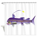 Deep Sea Viperfish Shower Curtain