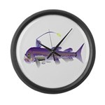 Deep Sea Viperfish Large Wall Clock