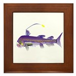 Deep Sea Viperfish Framed Tile