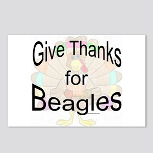 Thanks for Beagle Postcards (Package of 8)