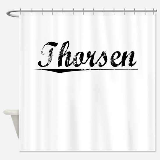 Thorsen, Vintage Shower Curtain