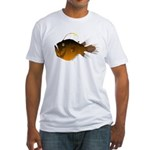 Deep Sea Anglerfish (Female) Fitted T-Shirt