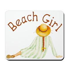 Beach Girl Mousepad