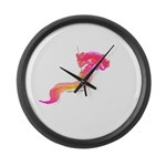 Deep Sea Worm Large Wall Clock