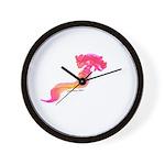 Deep Sea Worm Wall Clock