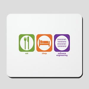 Eat Sleep Software Mousepad