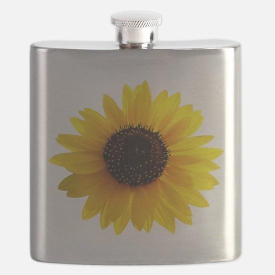 Golden sunflower Flask