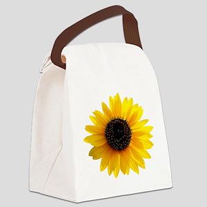 Golden sunflower Canvas Lunch Bag