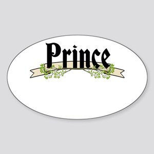 Prince Sticker (Oval)