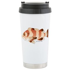 Copper Rockfish fish Stainless Steel Travel Mug