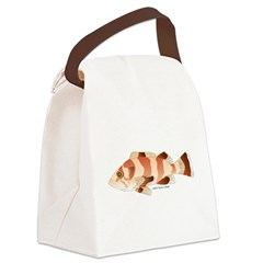 Copper Rockfish fish Canvas Lunch Bag