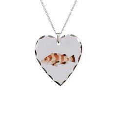 Copper Rockfish fish Necklace