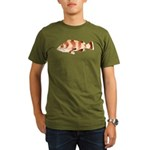 Copper Rockfish fish Organic Men's T-Shirt (dark)