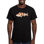 Copper Rockfish fish Men's Fitted T-Shirt (dark)
