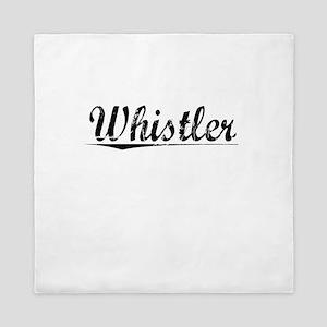 Whistler, Vintage Queen Duvet