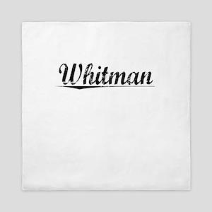 Whitman, Vintage Queen Duvet