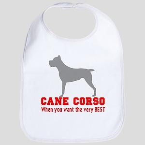 CANE CORSO VERY BEST Bib